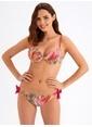 Ayyıldız Destekli Üçgen Bikini Pembe